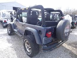 jeep dark blue 2003 wrangler sport blue