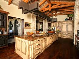 kitchen rustic kitchen island prominent rustic hickory kitchen