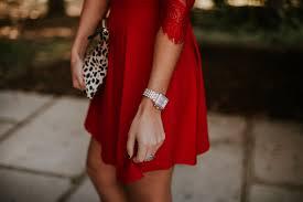 red lace dress a southern drawl
