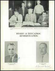 mather high school torch yearbook munising mi class of 1957