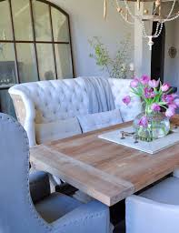settee for dining room table settee style settees dining room table and room