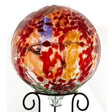 kitras outdoor gazing balls and yard ornaments