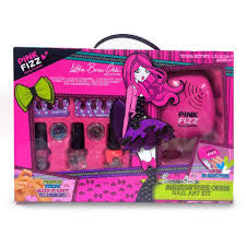 pink fizz samantha u0027s sparkle with glitz nail art set toys