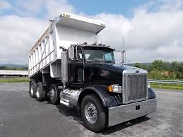 peterbilt show trucks tri axle aluminum dump trucks for sale