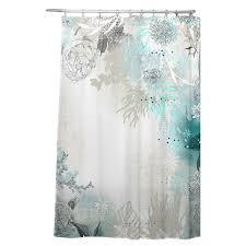 Shower Curtain Teal Bungalow Rose Holley Seafoam Shower Curtain U0026 Reviews Wayfair