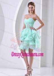 quince dama dresses apple green discount sweetheart quinceanera dama dress with