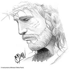 traditional jesus cross tattoo design photo 1 real photo