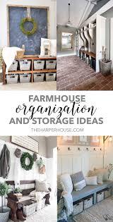 farmhouse organization and storage ideas house