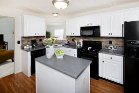 Kitchen Cabinets Painted White Wonderful Kitchens With Black Appliances And White Cabinets Find