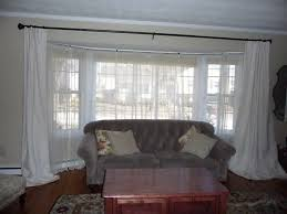 window treatments for bow windows in living room home intuitive