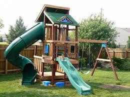 Backyard Swing Set Ideas by Best 20 Little Tikes Swing Set Ideas On Pinterest Babys First