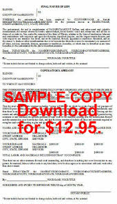 waiver of lien template illinois individual lien notices in microsoft word format