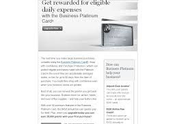 American Express Black Card Invitation American Express Business Platinum Upgrade Offer Running With Miles