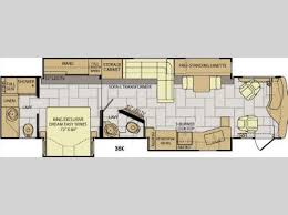 Fleetwood 5th Wheel Floor Plans New 2017 Fleetwood Rv Discovery 38k Motor Home Class A Diesel At