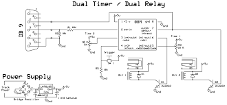 dual timers for dual relays picaxe 08m