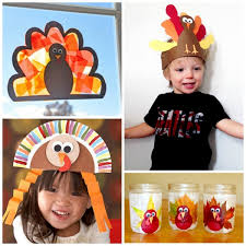 Thanksgiving Class Party Ideas Turkey Crafts For Kids Growing A Jeweled Rose