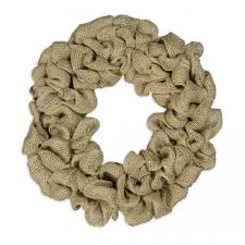 burlap wreath kit craftoutlet