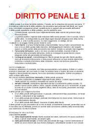 dispense diritto penale riassunto esame diritto testo consigliato diritto penale parte
