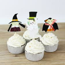 Cupcake Decorating Halloween Compare Prices On Skull Cupcake Decorations Online Shopping Buy
