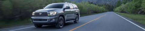 toyota sport utility vehicles 2018 toyota sequoia full size suv anything but ordinary