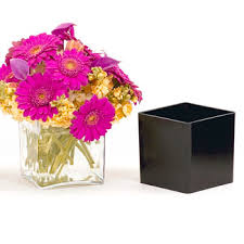 Floral Vases And Containers Containers U0026 Vases Plastic Containers Plastic Cubes Floral