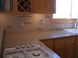 Wholesale Backsplash Tile Kitchen Travertine Subway Tile Kitchen Backsplash With A Mosaic Glass