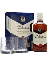 ballantine u0027s finest 2 tumblers gift pack the whisky exchange