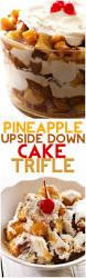 pineapple upside down cake trifle recipe cake glaze pineapple