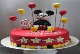 birthday cake ideas for 3 year old boys 7