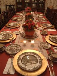 my thanksgiving table my grandmother s johnson brothers