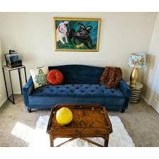 Vintage Tufted Sofa by Customer Reviews Novogratz Vintage Tufted Sofa Sleeper Ii