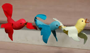 felt bird ornaments are addictive whileshenaps