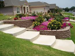 Concrete Ideas For Backyard 25 Trending Sloped Backyard Ideas On Pinterest Sloping Backyard