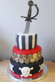 3 tier halloween birthday cake 3 tier pirate cake