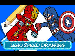 speed drawing coloring pages disegni da colorare lego