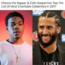 Kaepernick Memes - dopl3r com memes chance the rapper colin kaepernick top the