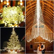 slow twinkling christmas lights chain fairy string lights 110v 220v ip44 164ft 50m 500leds outdoor