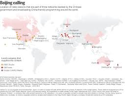 China On The World Map by Exposed China U0027s Covert Global Radio Network