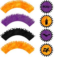 Halloween Cup Cake Shery K Designs Free Svg Halloween Cupcake Topper And Wrapper