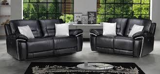 Sofa Sets Leather Black Leather Sofas Leather Sofa World