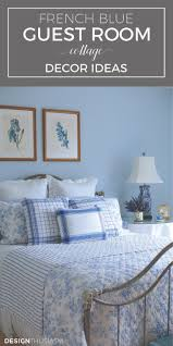 love the mix of fabrics colors and decor in this guest room
