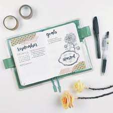plan with september 2017 bullet journal setup u2014 sarica feng
