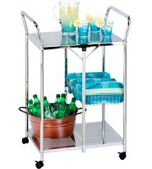 Folding Kitchen Cart by Restaurant Utility Cart Intermetro Cart Folding Work Table