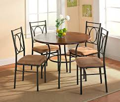 Ashley Furniture Round Dining Table Small Kitchen Table Sets Large Clear Glass Shelf Cabinet Unique