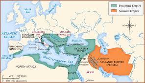 Byzantine Empire Flag Byzantine Empire And Sassanid Empire Image The Age Of Mankind