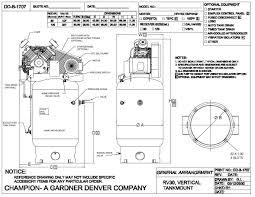 chion vrv7 12 air compressor 7 5 hp single phase 120 gal 230 volt