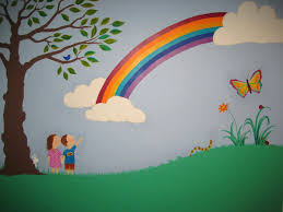 a winnie the pooh nursery muralpainting outside wall murals rainbow bedroom ideas crafty little people our beautiful wall muralpainting murals painting exterior