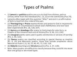 Psalms Of Praise And Thanksgiving Psalms In The Hebrew The Book Of Psalms Is Titled Tehillim