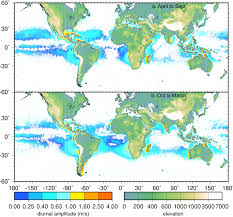 Ucsd Maps Land Sea Breeze From Quikscat And Seawinds Preliminary Results