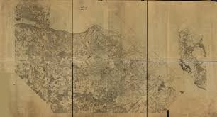 Detailed Map Of Virginia by Detailed Civil War Map Of Northern Virginia I Love Arlington Va